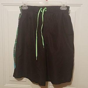 Medium boys Nike swim trunks